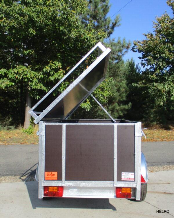 Aanhangwagen Helpo ongeremd HTG 750 kg, Bagage-montage aanhanger. Type HB 170