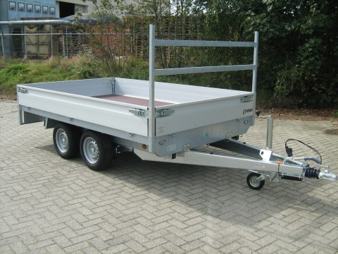 Henra plateau aanhangwagen 4010mm x 2020 mm htg 2700 kg, prijs € 3022,60 ex btw