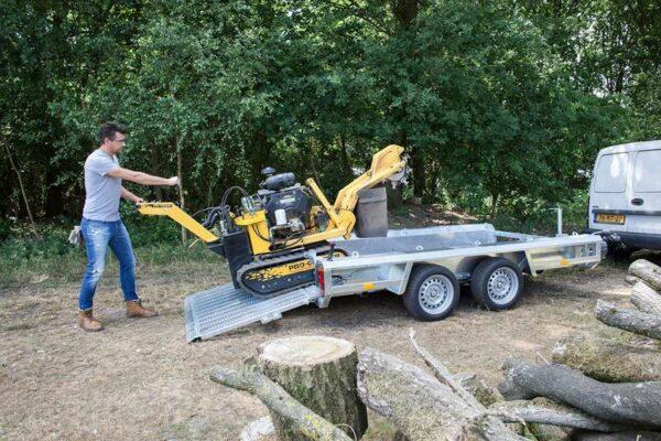 Henra machine transporter 2990mm x 1500mm htg 2700kg, prijs 3443,35 ex btw