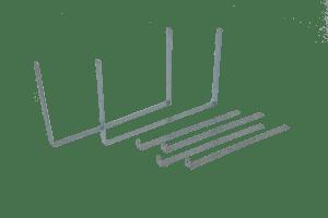 Ophangbeugels voor gereedschapskist voor Stabilobox - box 600
