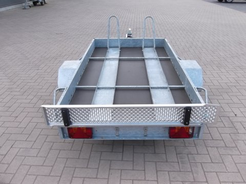 Aanhangwagen Power Trailer, ongeremde enkelas, HTG 750, type PTMO 225.160/75EA