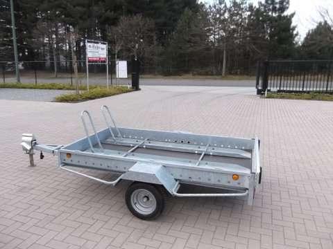 Aanhangwagen Power Trailer, ongeremde enkelas, HTG 750, type PTMO 250.160/75EA