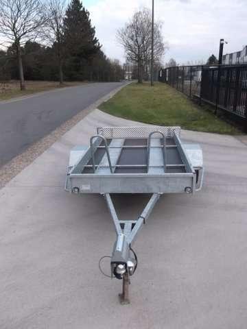Aanhangwagen Power Trailer, geremde enkelas, HTG 1000, type PTSM 250.160/100EA