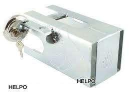 Anti-diefstal slot koker model met cylinderslot R 70 mm