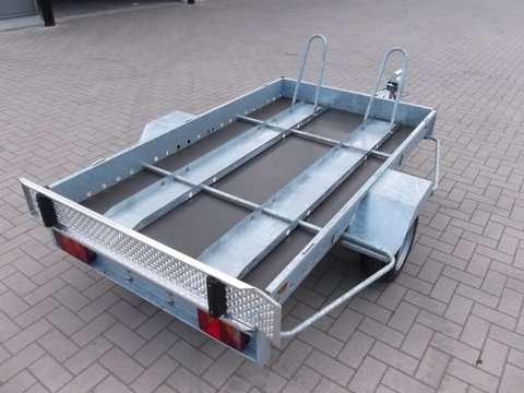 Aanhangwagen Power Trailer, geremde enkelas, HTG 1300, type PTSM 300.160/130EA