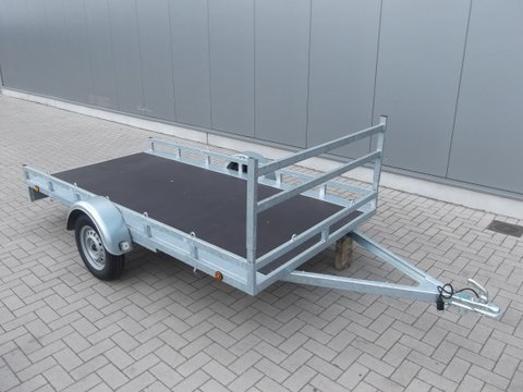 Helpo-HLM ongeremd, enkelas, HTG 750kg, type HLM 307.157/75EA- koets-motor openmodel €725,00 ex btw