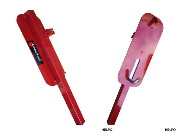 Anti-diefstalslot wielklem Doublelock SCM gekeurd, kleur rood