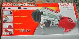 Anti-diefstalslot Alko safetykid-AK300-kap grijs