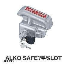 Anti-diefstalslot Alko safety kap grijs