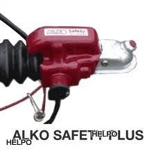 Anti-diefstalslot Alko safety plus kap rood AK 160