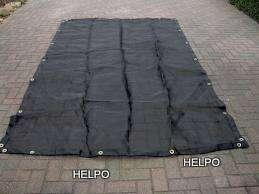 Aanhangwagen gaasnet zwart 3000 x 1800 mm,