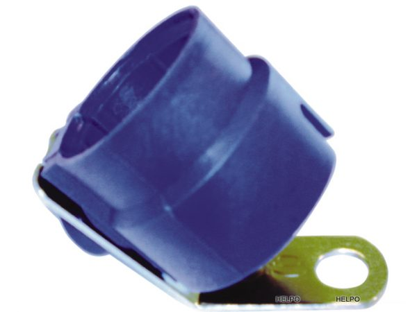 Stekkerhouderl 7 + 13 polig blauw kunststof