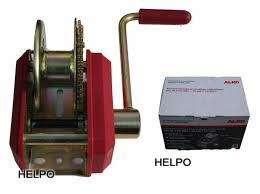Handlier Alko 901 plus, veiligheidslier 900 kg - geremd - geen afneembare slinger