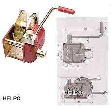 Handlier Alko 901A plus veiligheidslier geremd met afneembare slinger,