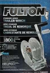 Handlier Fulton T1801 820 kg single-speed
