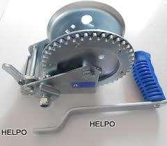 Handlier Novio 545 kg + 6 mtr blauwe lierband met haak
