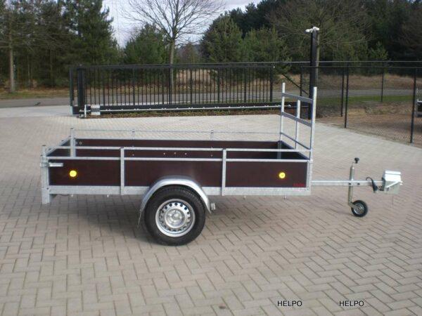 Aanhangwagen Helpo ongeremd HTG 750 kg type R25 standaard