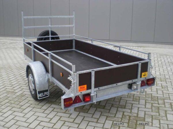 Aanhangwagen Helpo ongeremd HTG 750 kg type R25 PROFI