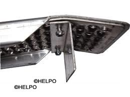 Aluminium losse profiel beugel voor Oprijplaat kop B-standaard
