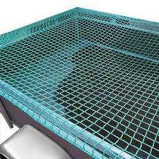 Aanhangwagennet groen 3600 x 2100, pp 35 mm mazen