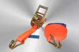 Spanband 1000 kg, 6000 mm l x 35 mm br, kleur oranje