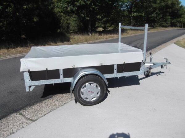 Aanhangwagen Rova, ongeremde enkelas, HTG 750 type MR175.100/75 EA