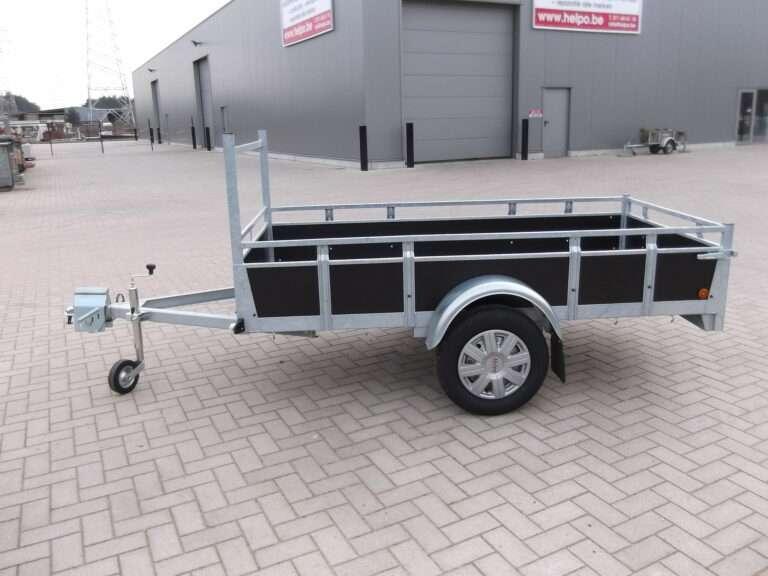 Aanhangwagen Rova, ongeremde enkelas, HTG 750 type MR200.110/75 EA