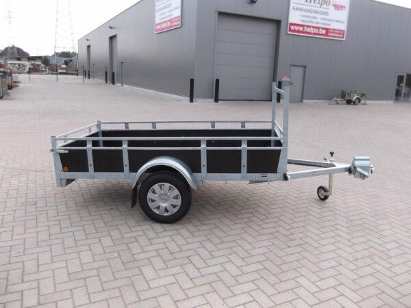 Aanhangwagen Rova, ongeremde enkelas, HTG 750 type MR200.131/75 EA