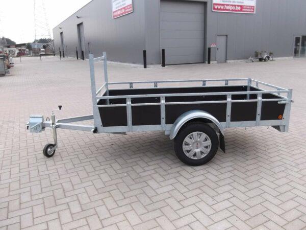 Aanhangwagen Rova, ongeremde enkelas, HTG 750 type MR225.131/75 EA