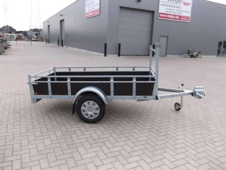 Aanhangwagen Rova, ongeremde enkelas, HTG 750 type MR258.131/10 EA