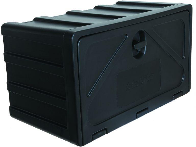 Gereedschapskist kunststof stabilo 510x340x300mm type 500-3 + draaikop / slot, ondermontage