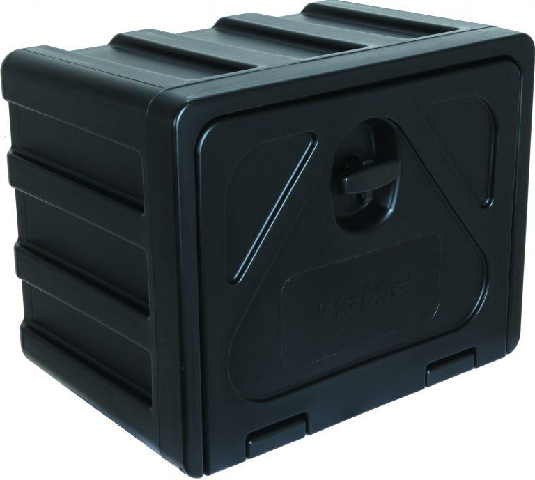 Gereedschapskist kunststof stabilo 800x450x450mm type 600 + draaikop / slot ondermontage