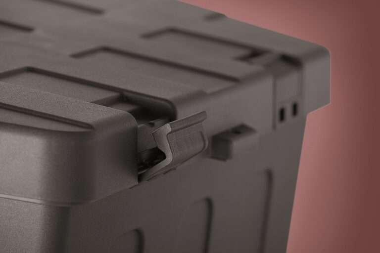 Gereedschapskist kunststof bovenbouw DH 620/570x300/260x350mm opbouw schuin Profi plus