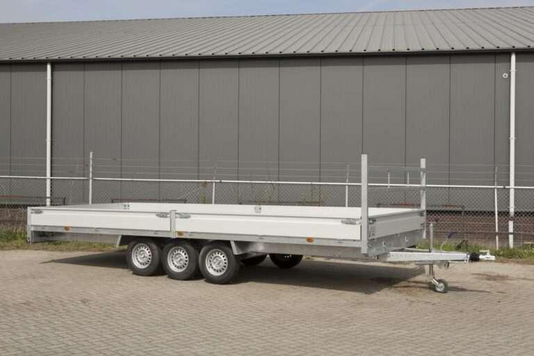 Henra plateau aanhangwagen 6030mm x 2220mm htg 3500 kg 3-asser Prijs € 5612,55 ex. btw
