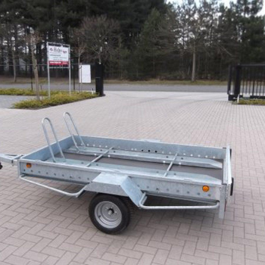 Aanhangwagen Power Trailer, ongeremde enkelas, HTG 750, type PTMO 225.125/75EA
