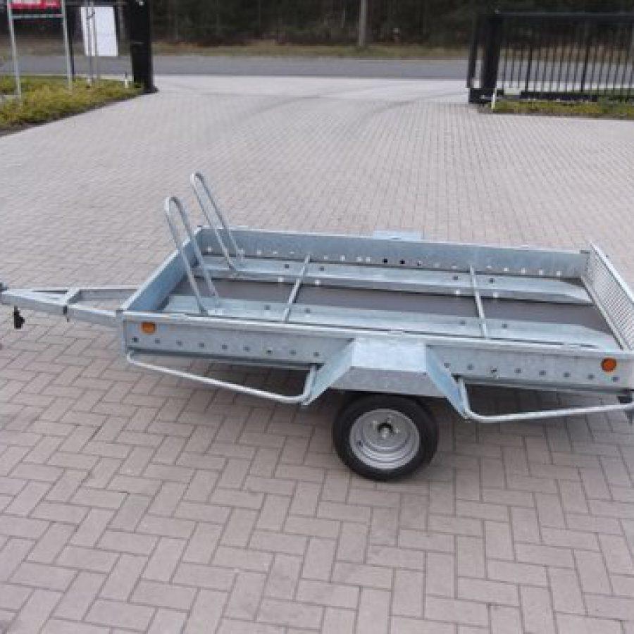 Aanhangwagen Power Trailer, geremde enkelas, HTG 1300, type PTSM 250.160/130EA