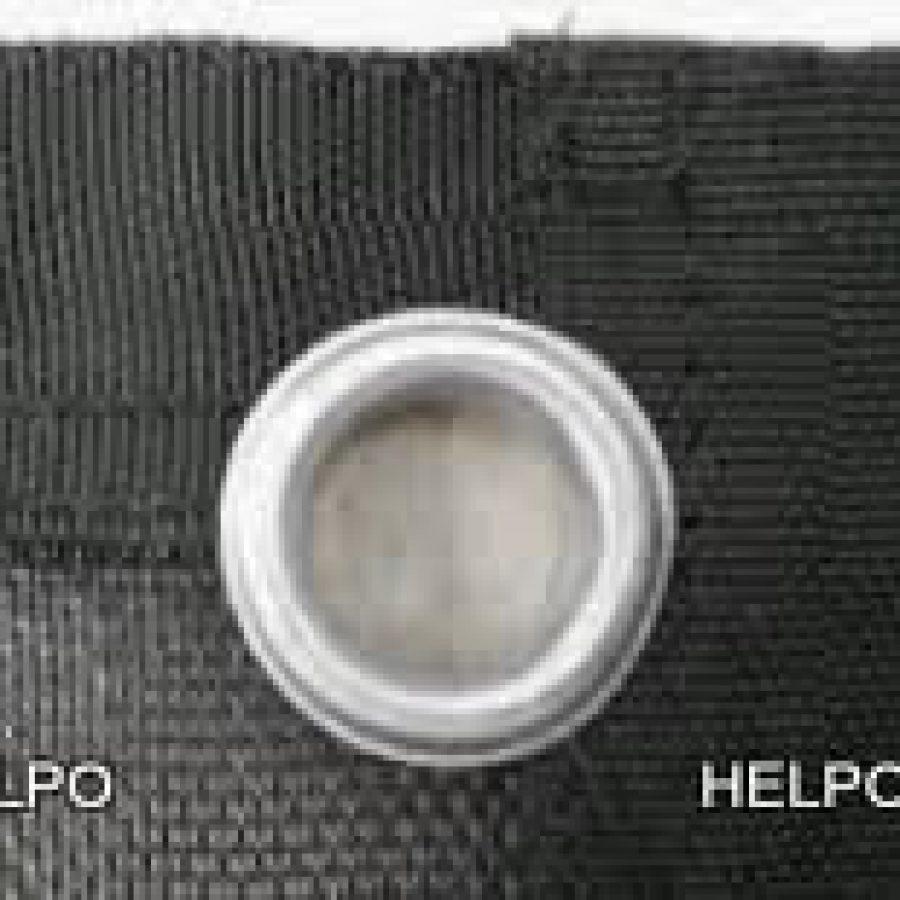 Aanhangwagen gaasnet zwart 3500 x 2100 mm,