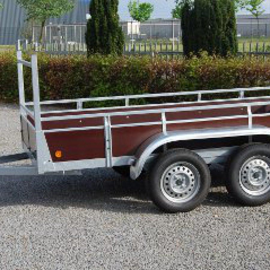 Aanhangwagen Rova, ongeremde dubbelas, HTG 750 type MR200.131/75 DA